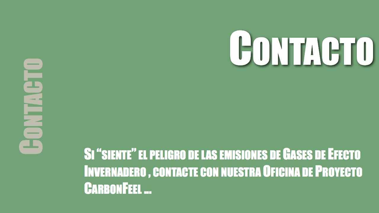 Contacto oficina Carbonfeel